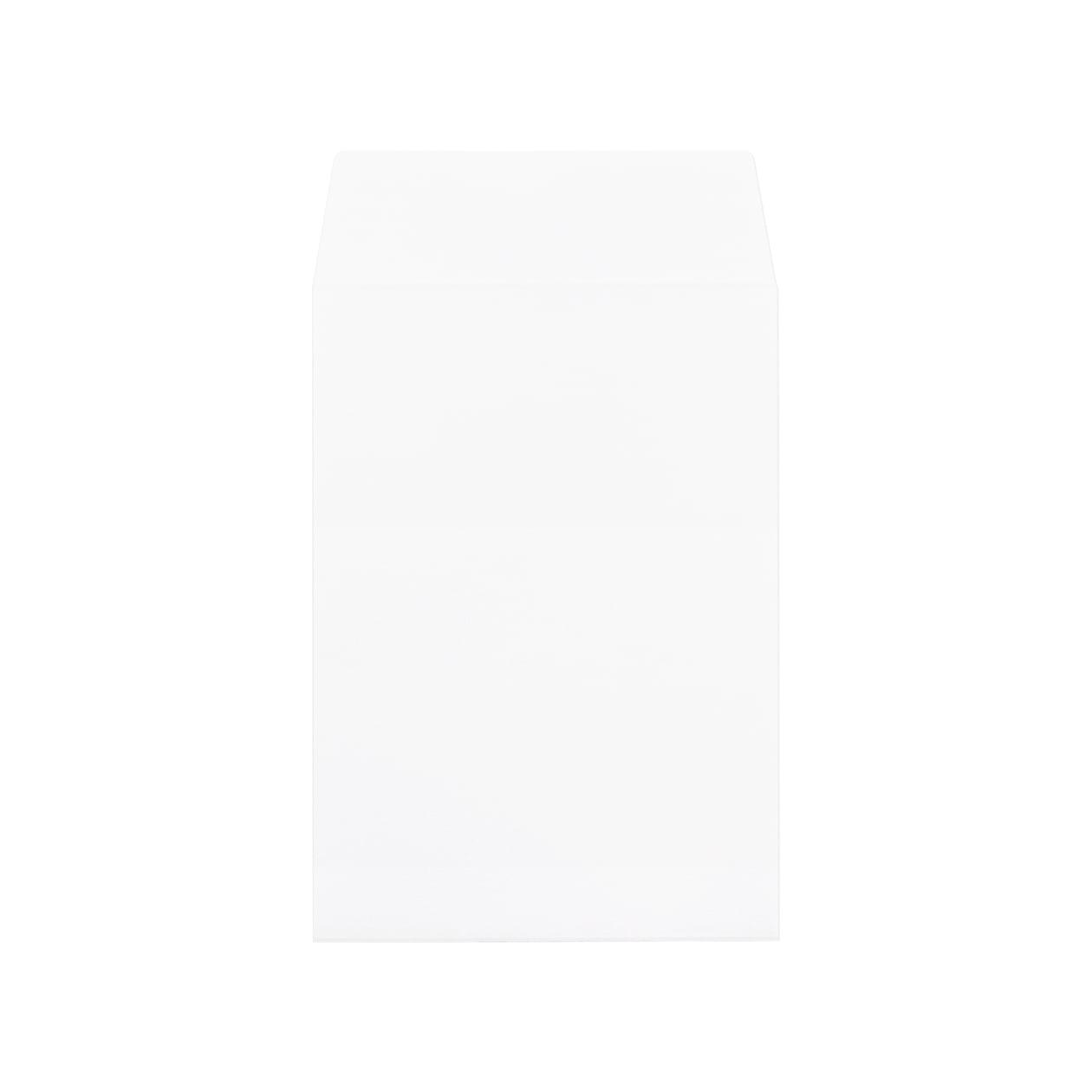 洋2タテ封筒 HAGURUMA Basic プレインホワイト 100g