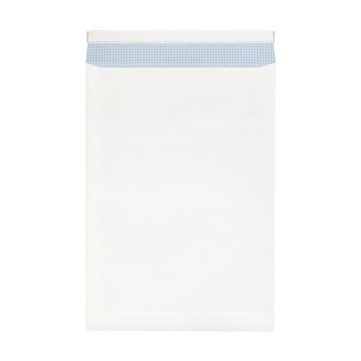 角20窓封筒 HAGURUMA Basic プレインホワイト 100g 地紋有 テープ有