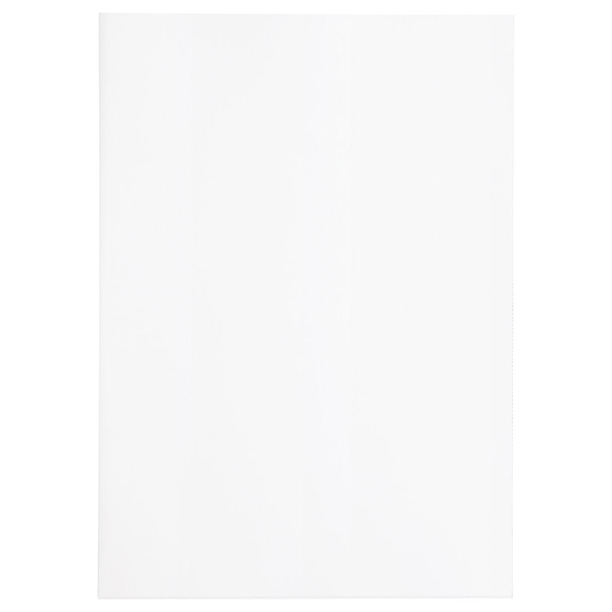 A4ファイル Basic プレインホワイト 100g