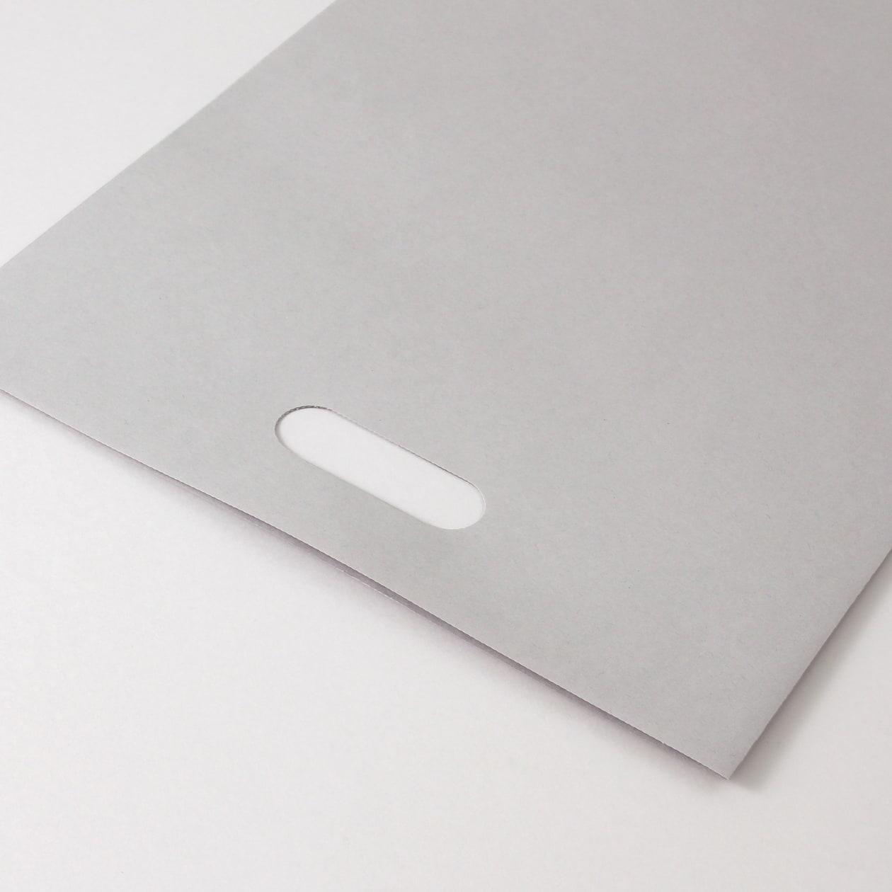 平袋B4用持ち手付 HAGURUMA Basic ライナーグレイ 100g