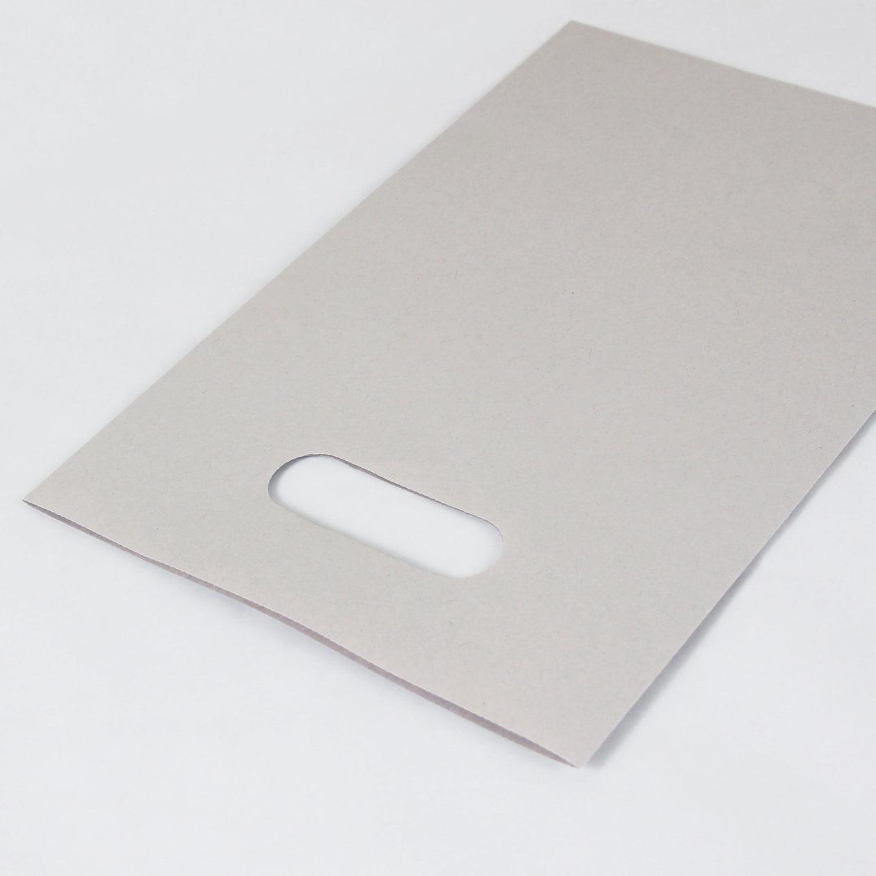 平袋A5用持ち手付 HAGURUMA Basic ライナーグレイ 100g
