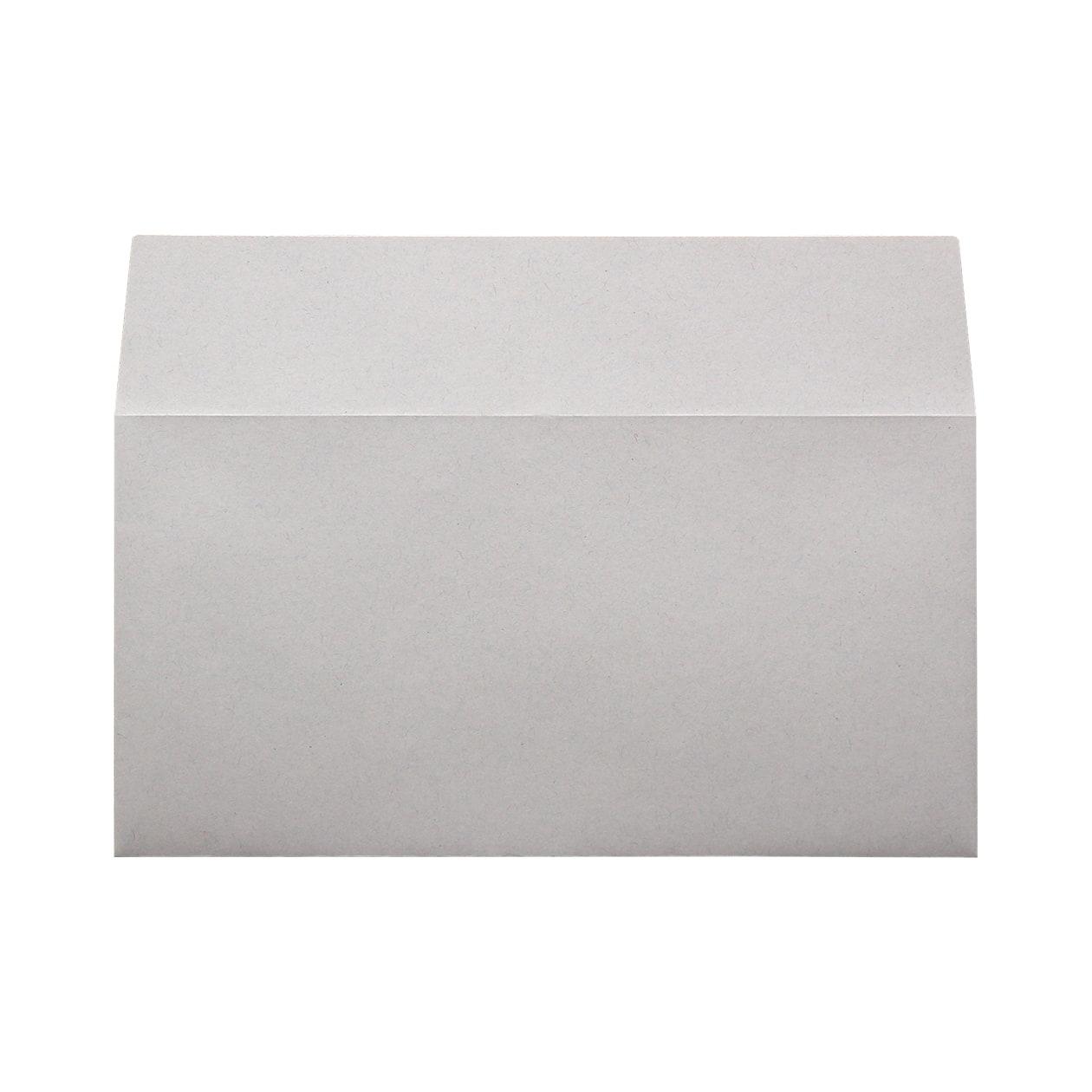 長3カマス封筒(フタ立て) HAGURUMA Basic ライナーグレイ 100g