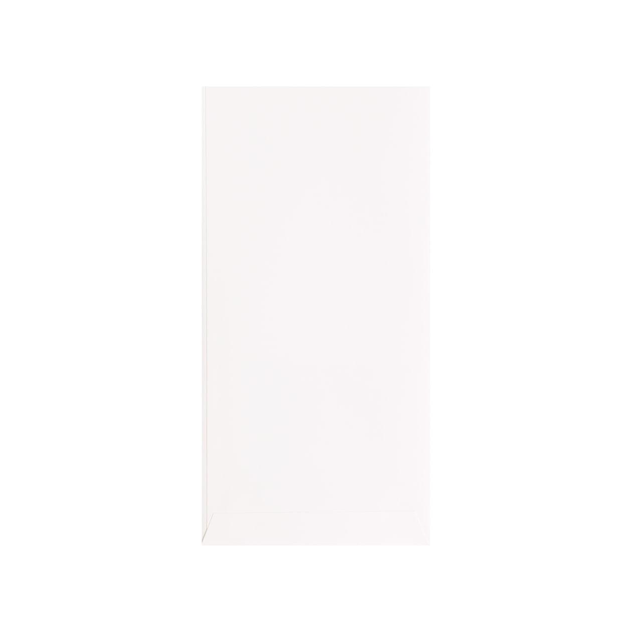 平袋125×250窓付 HAGURUMA Basic プレインホワイト 100g