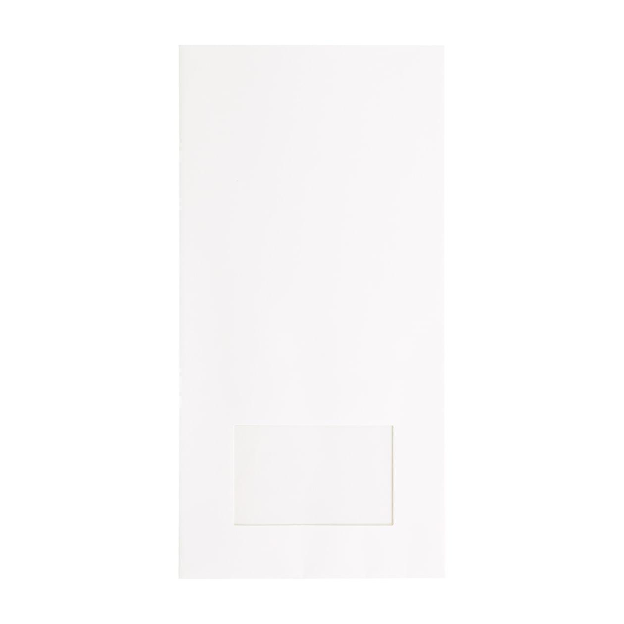 平袋160×320窓付 HAGURUMA Basic プレインホワイト 100g