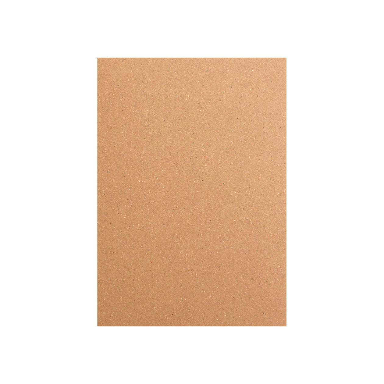 A5カード ボード紙 ブラウン 450g