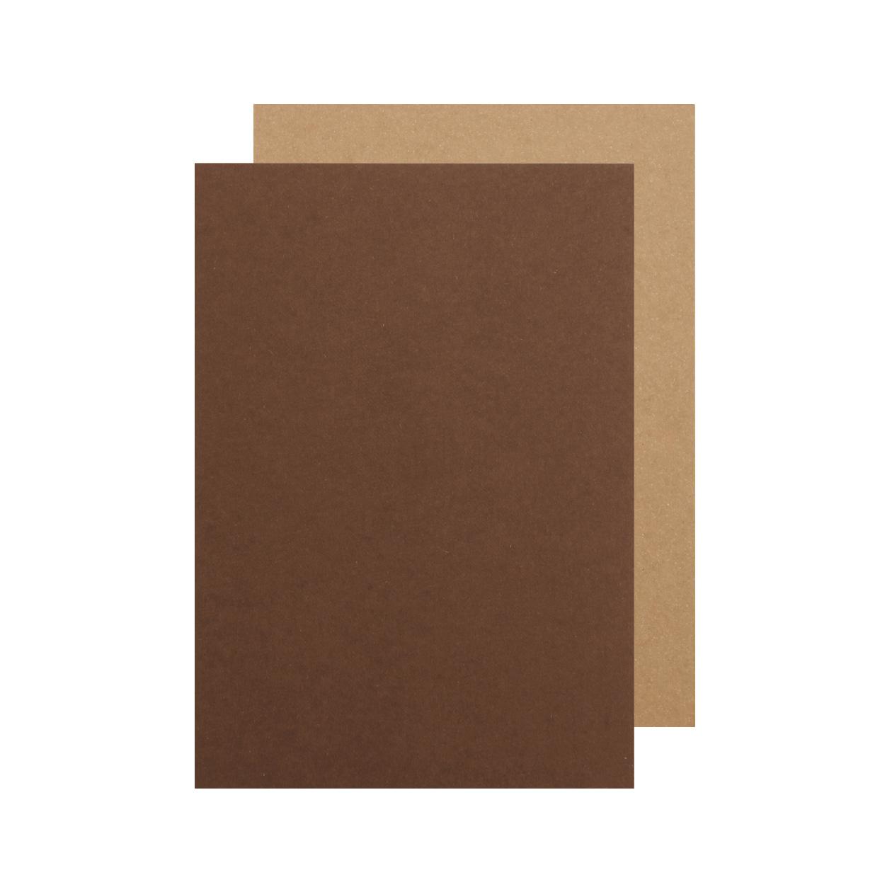 A5カード ボード紙 チョコレート 450g