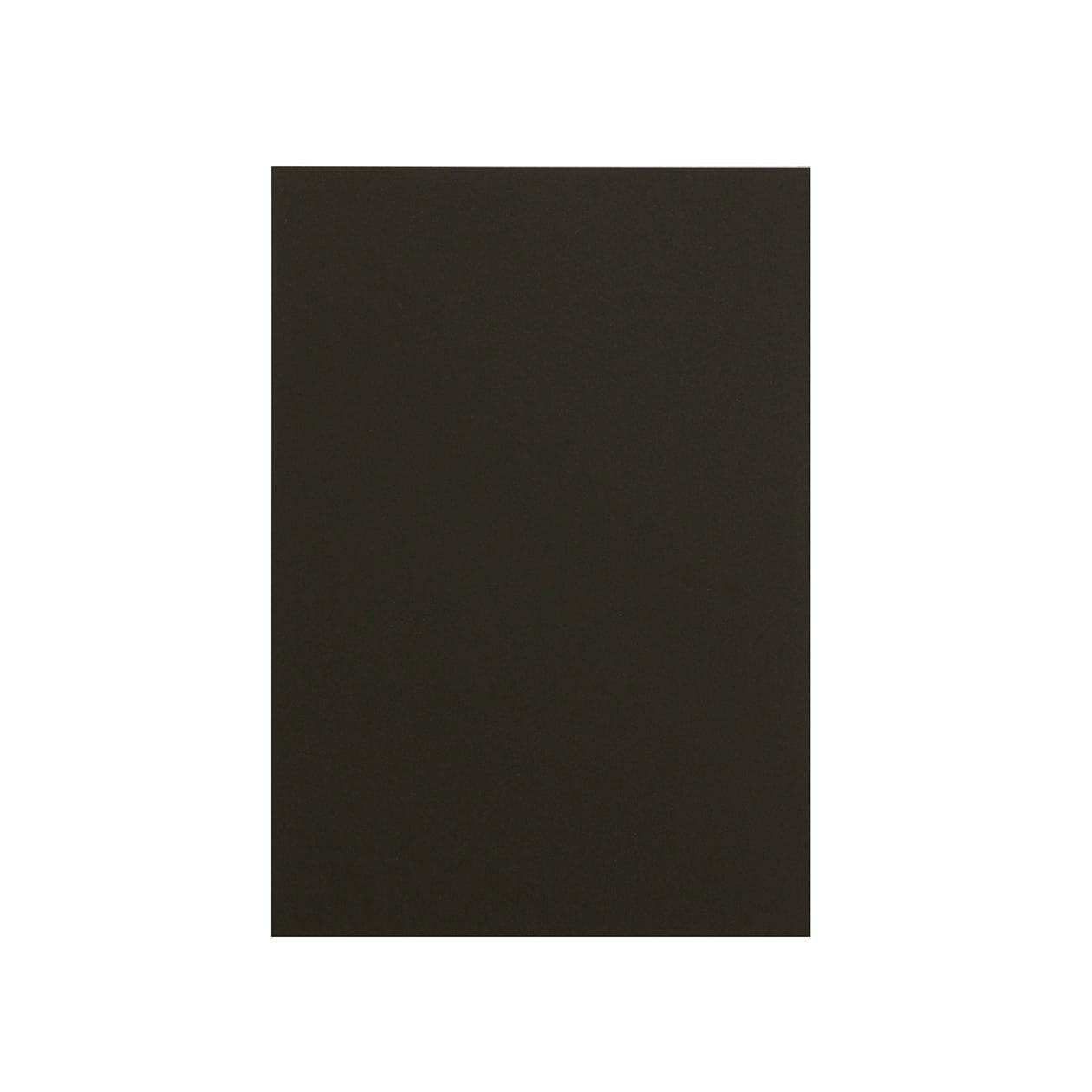 A5カード ボード紙 ブラック 464g