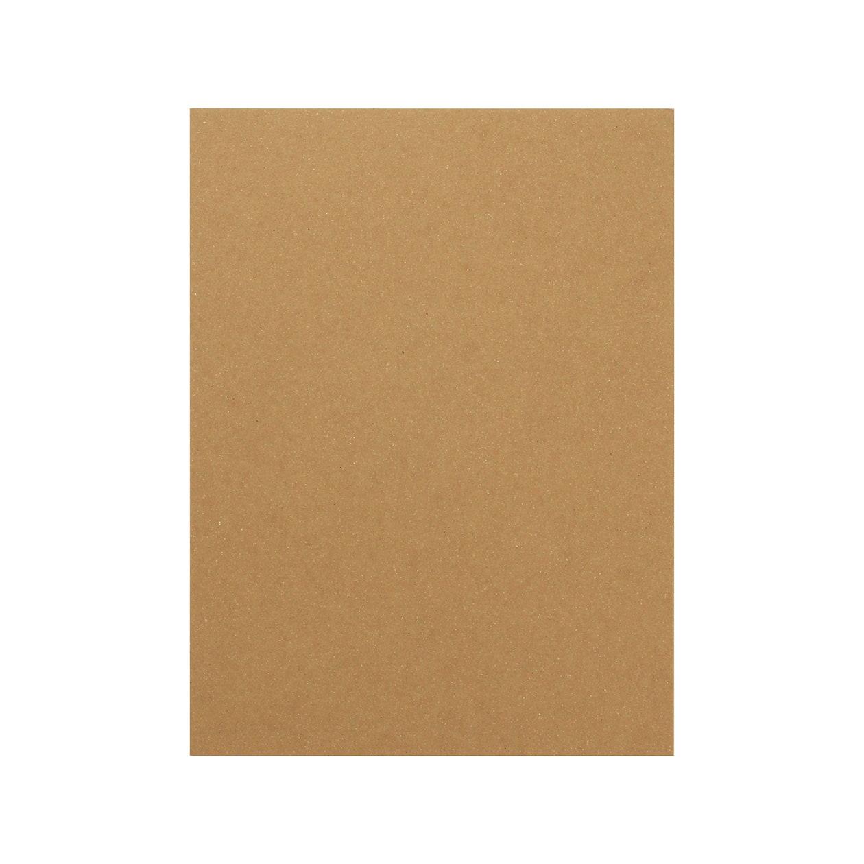 A5カード+30 ボード紙 ブラウン 600g