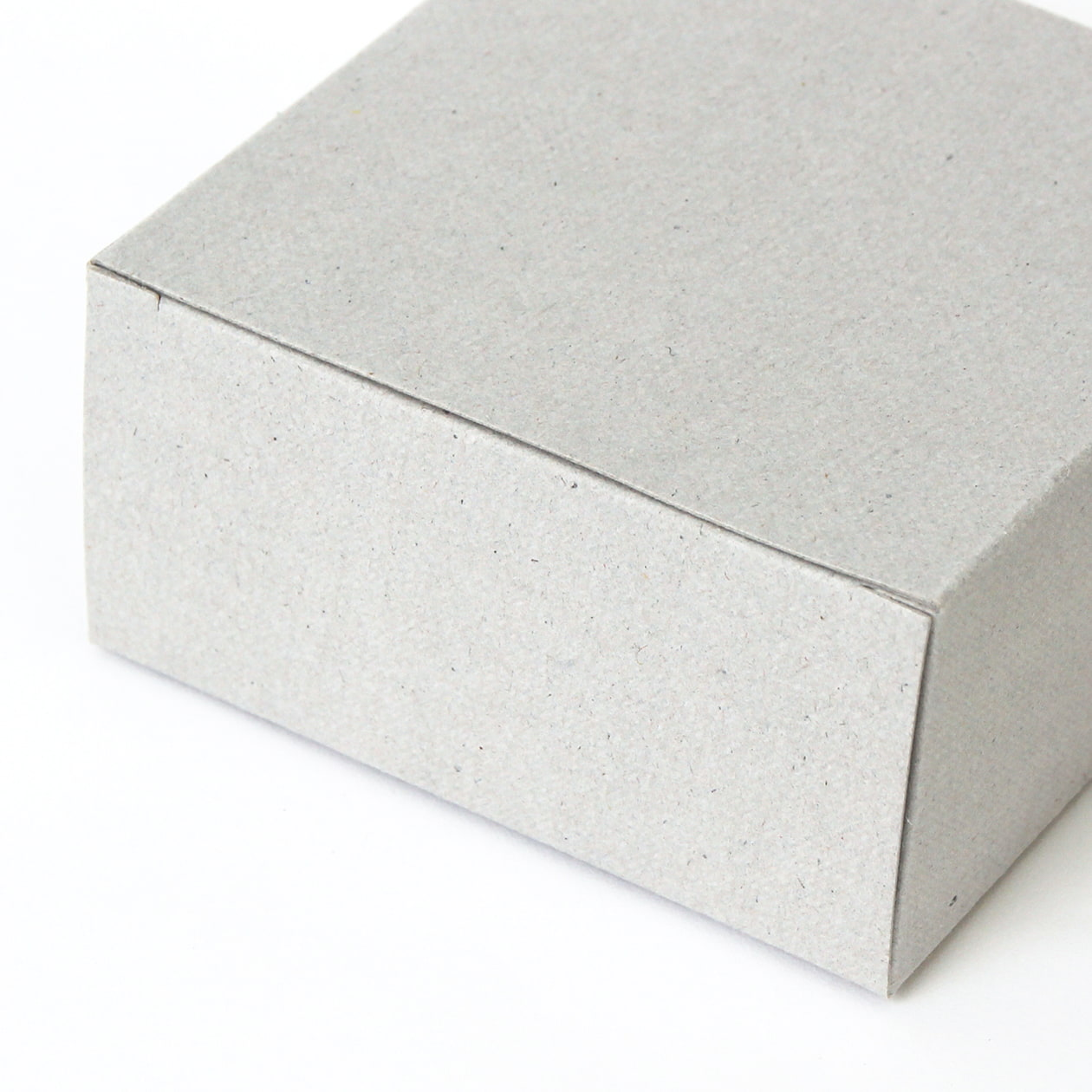 キャラメル箱80×40×80 ボード紙 グレー 270g