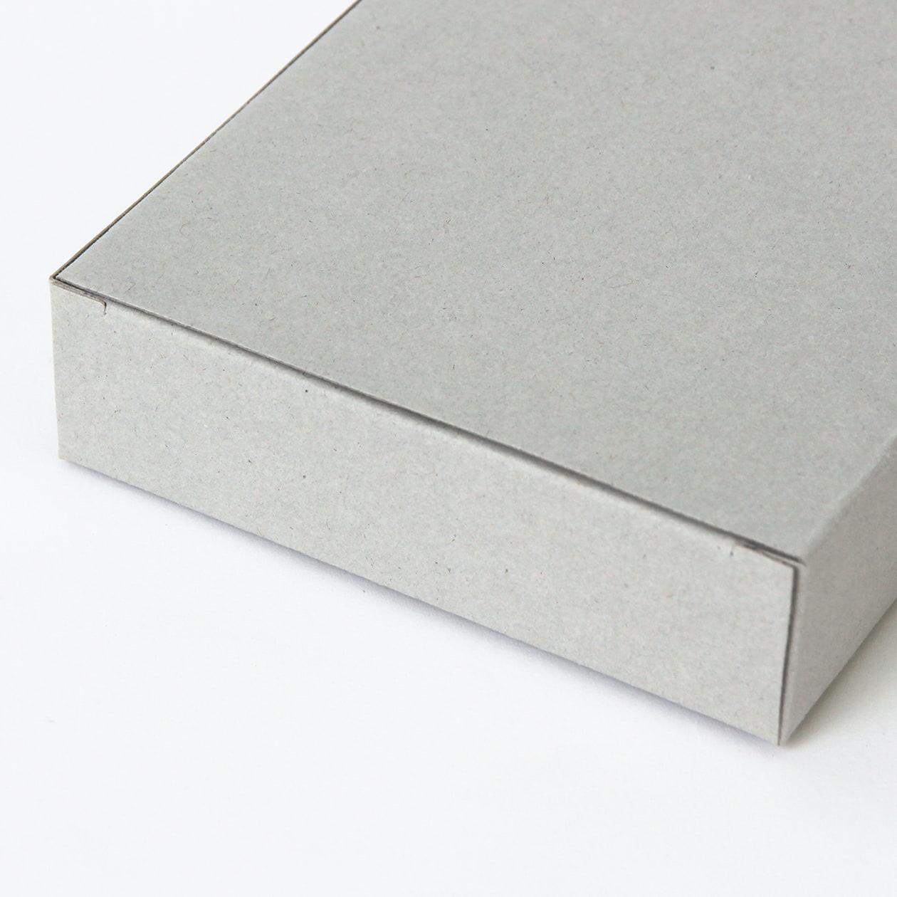 キャラメル箱90×25×140 ボード紙 グレー 270g