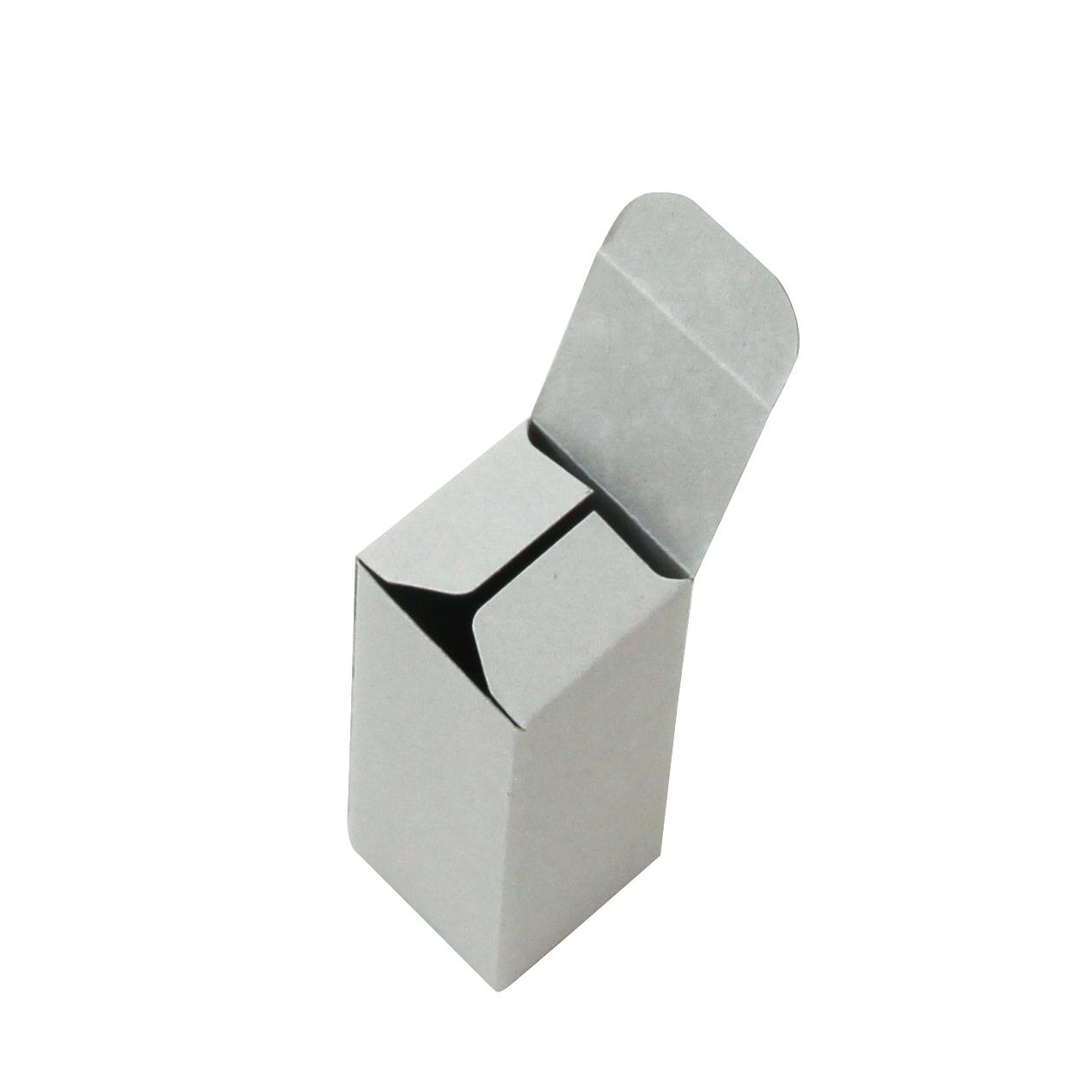 キャラメル箱30×30×75 ボード紙 グレー 270g