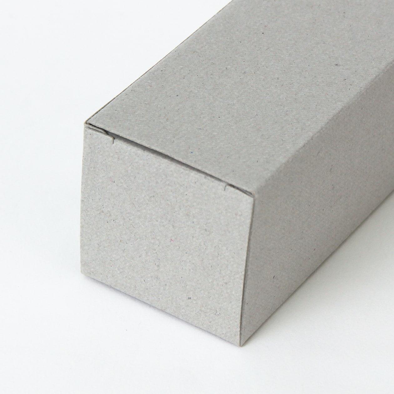 キャラメル箱40×40×130 ボード紙 グレー 270g