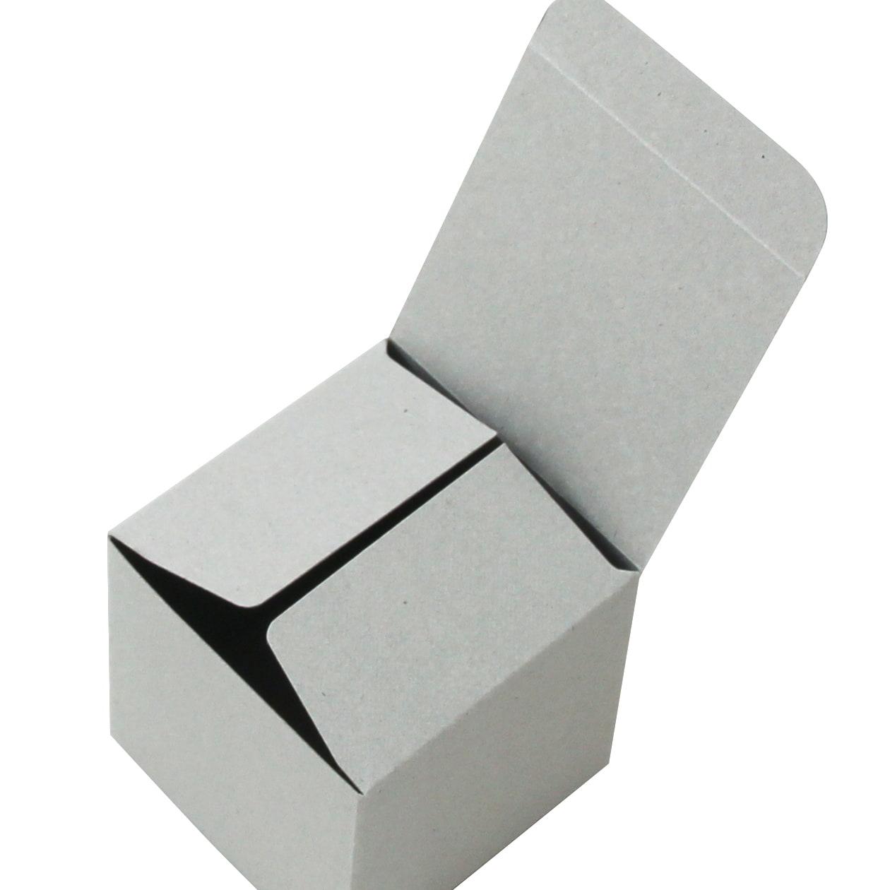 キャラメル箱60×60×60 ボード紙 グレー 270g
