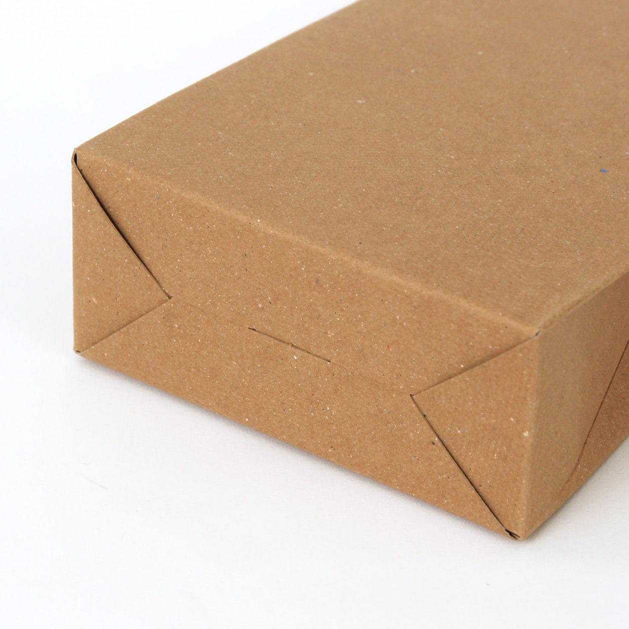 角底箱ロック式90×160×40 ボード紙 ブラウン 270g