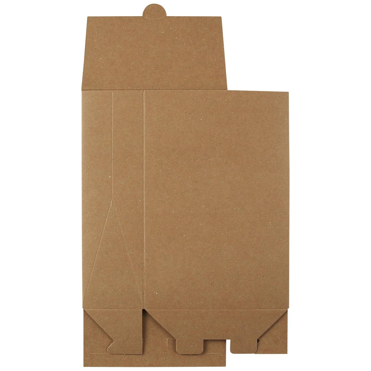 角底箱ロック式120×180×50 ボード紙 ブラウン 270g