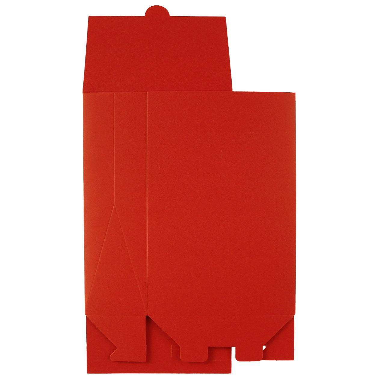 角底箱ロック式120×180×50 ボード紙 レッド 250g
