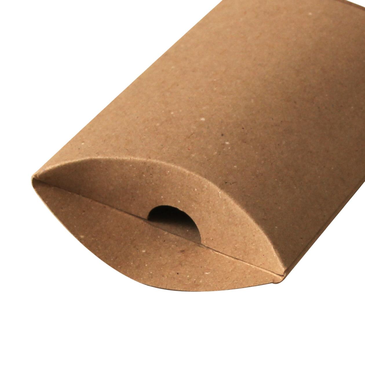 ピローケース75×115×20 ボード紙 ブラウン 270g
