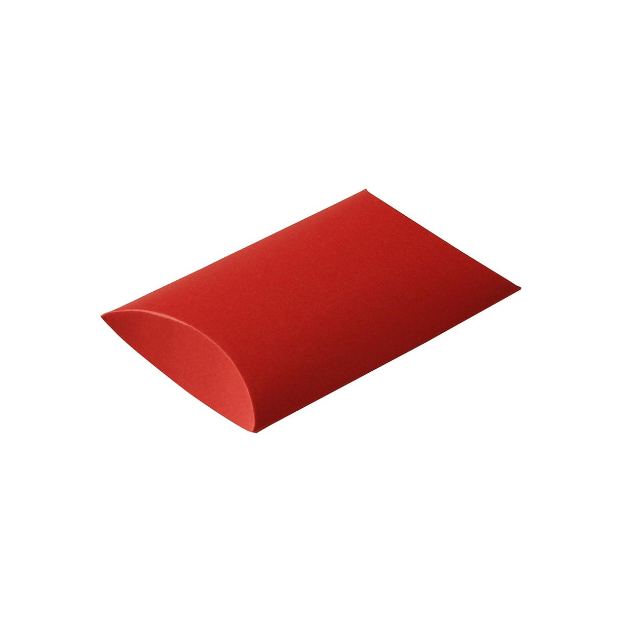 ピローケース75×115×20 ボード紙 レッド 250g