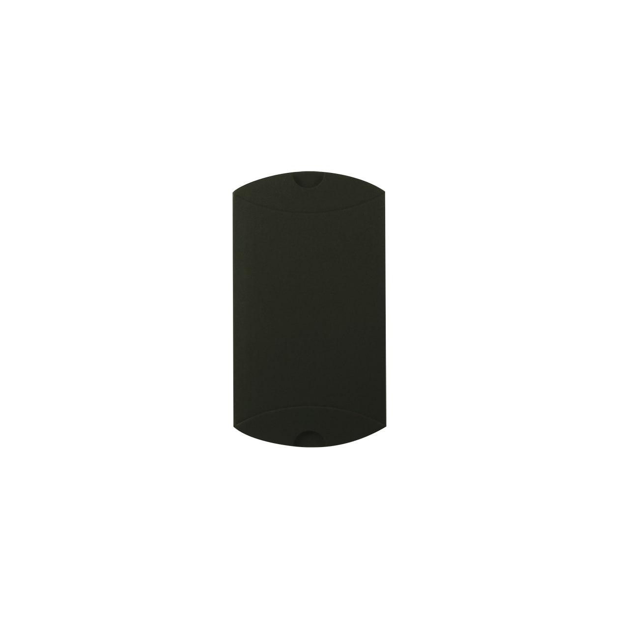 ピローケース75×115×20 ボード紙 ブラック 258.1g