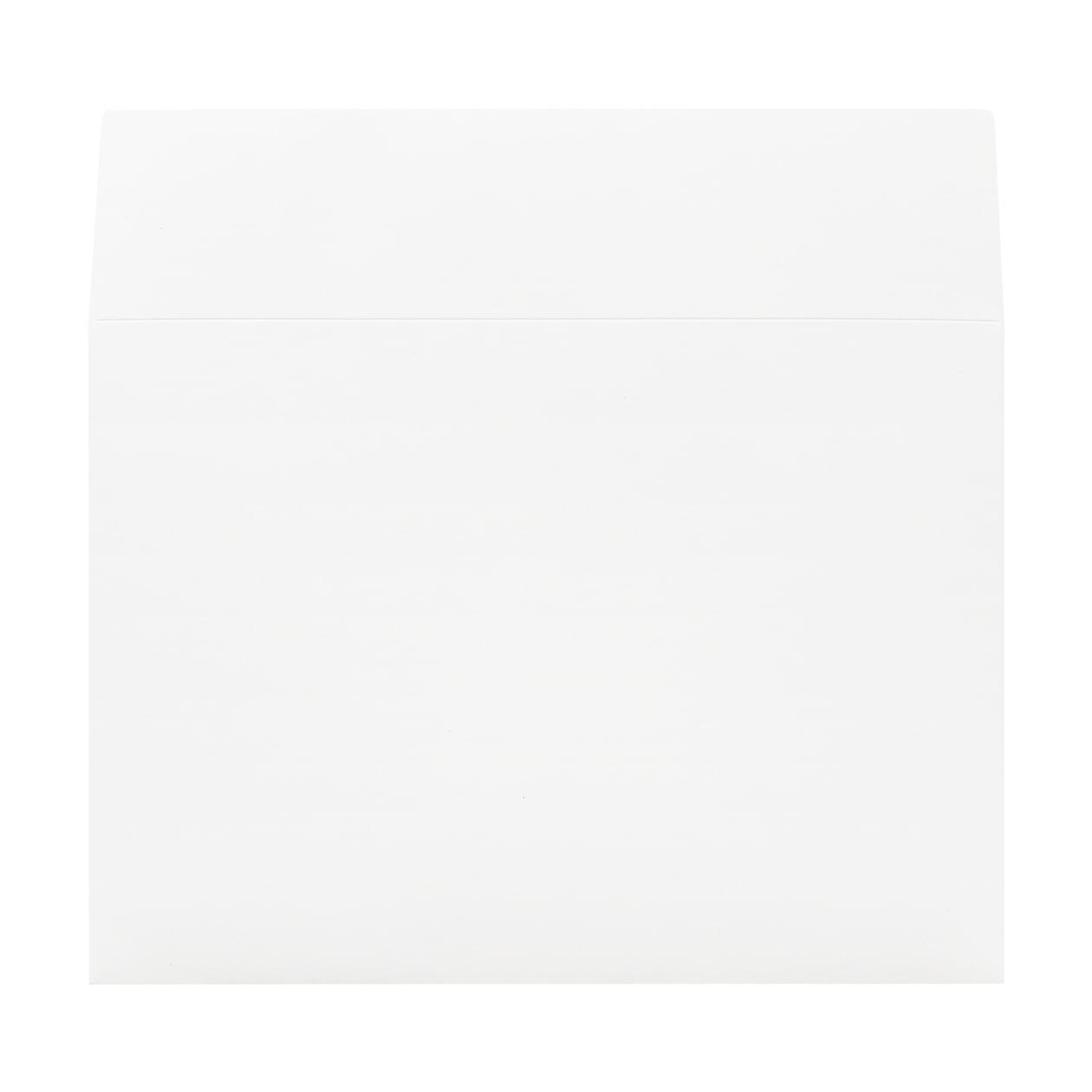 角2外カマス封筒(フタ立て) ボード紙 ホワイト 260g