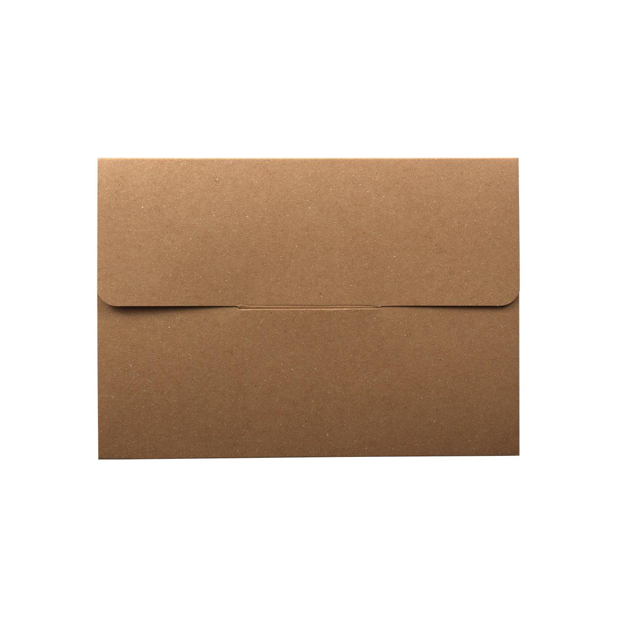 タトウ式箱A5用 差込有 ボード紙 ブラウン 270g マチ6mm