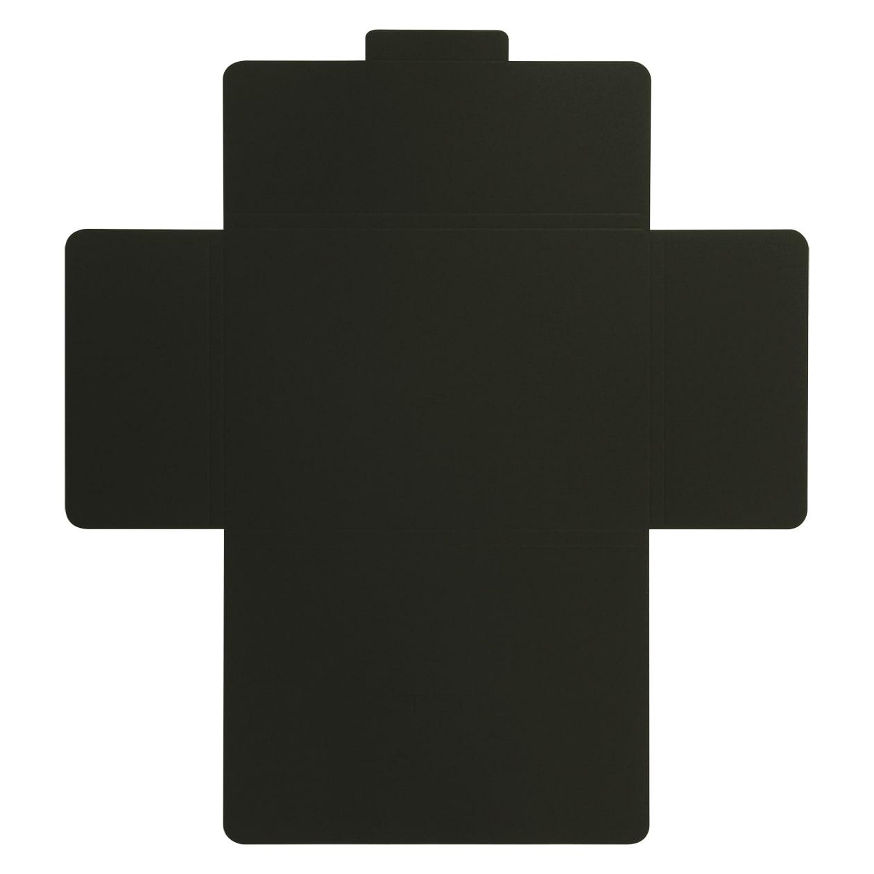 タトウ式箱A5用 ボード紙 ブラック 258.1g マチ6mm 差込有