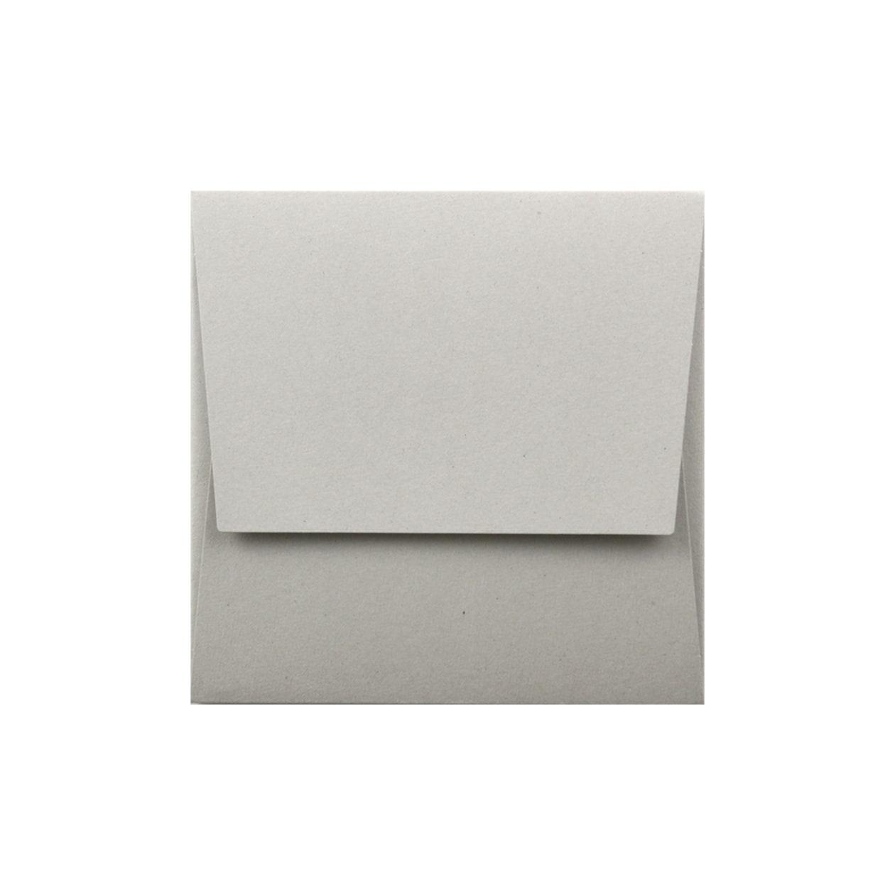 封筒型フォルダースクエア160 ボード紙 グレー 270g