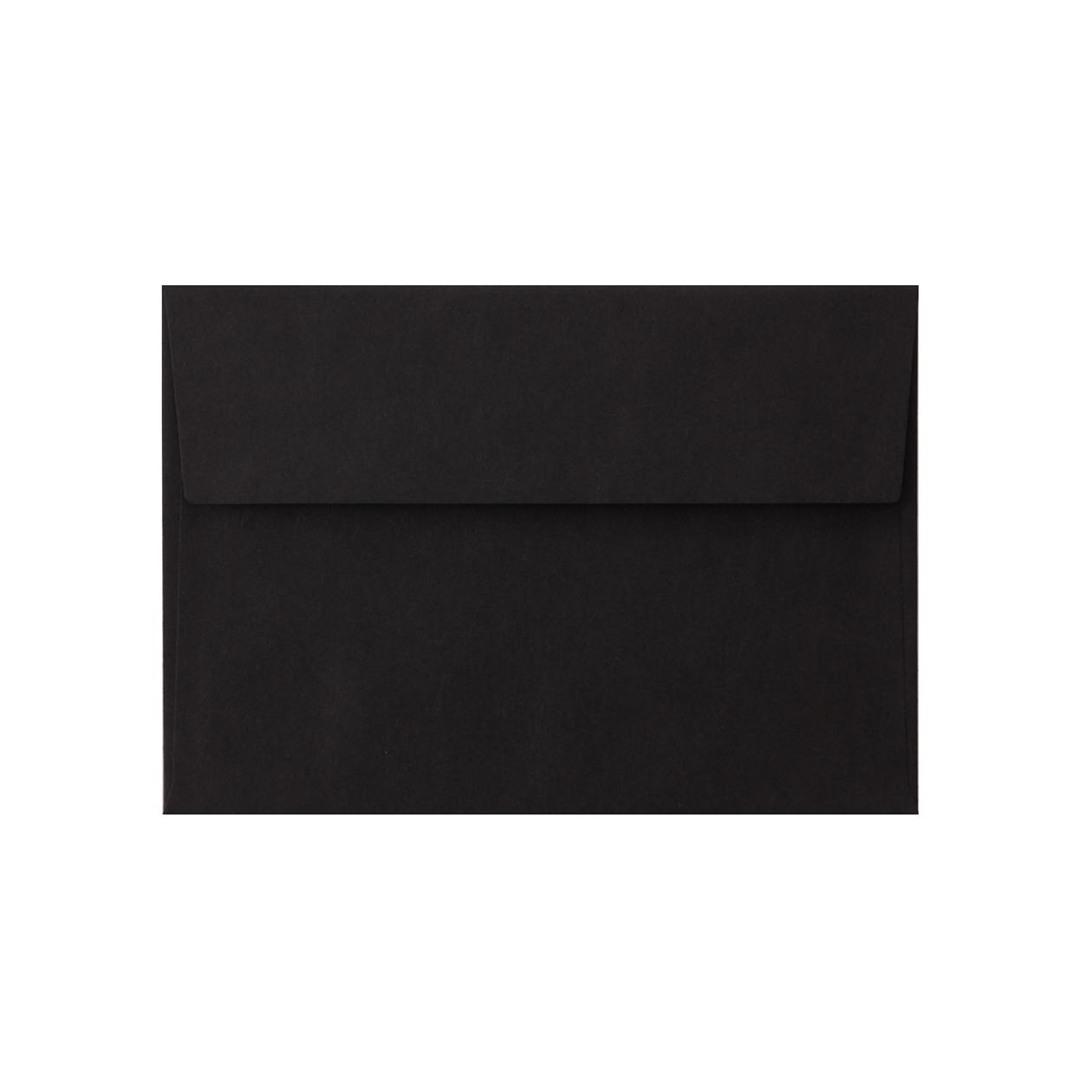 洋2カマス封筒 コニーカラー ブラック 85g