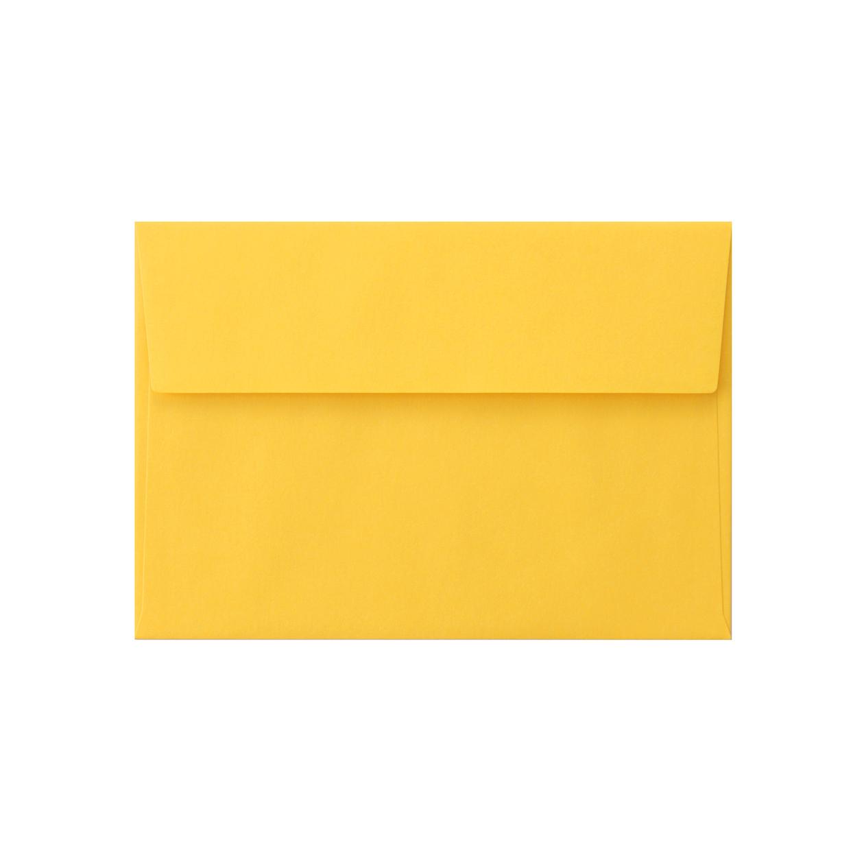 洋2カマス封筒 コニーカラー イエロー 85g