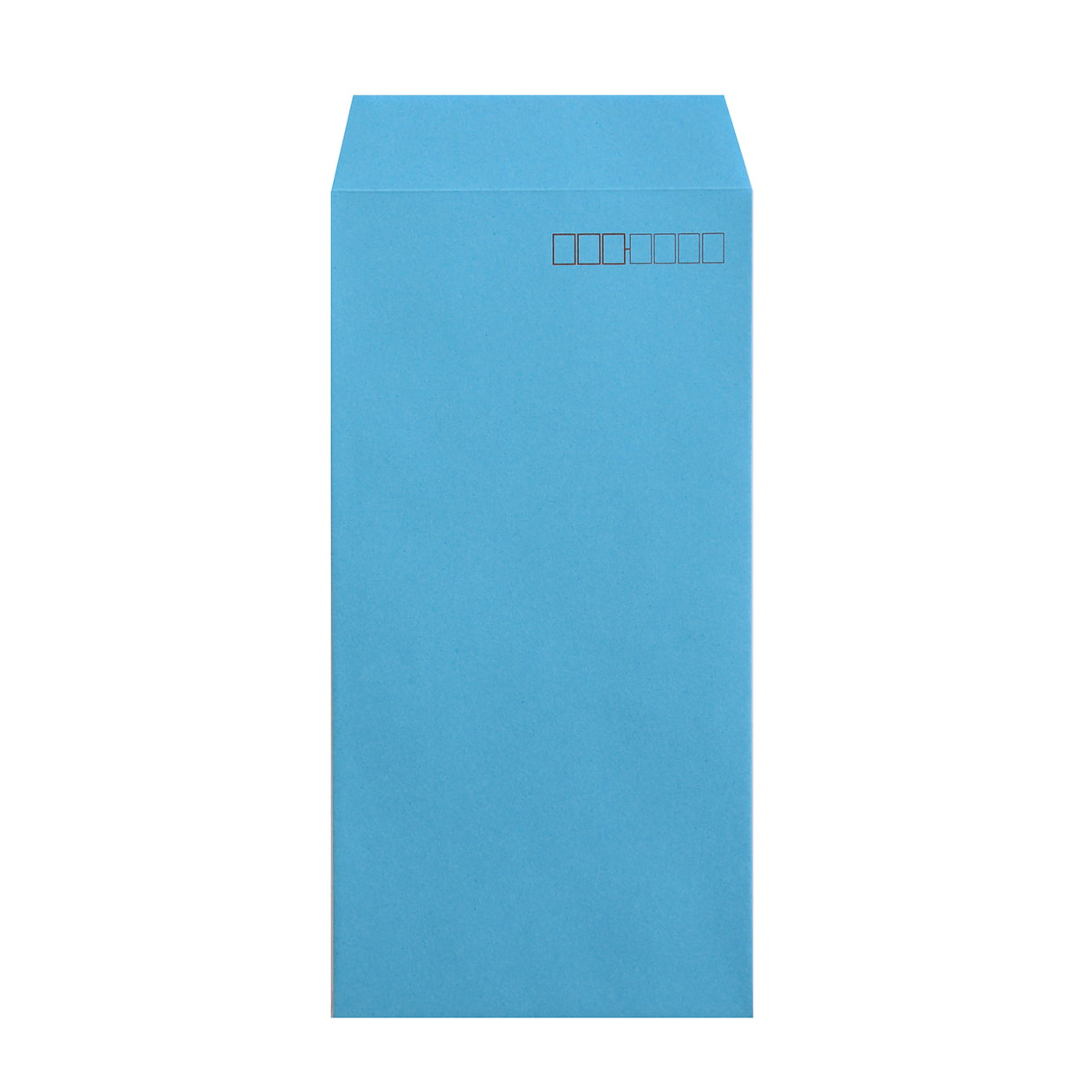 長3封筒 コニーカラー ブルー 85g 郵便枠有