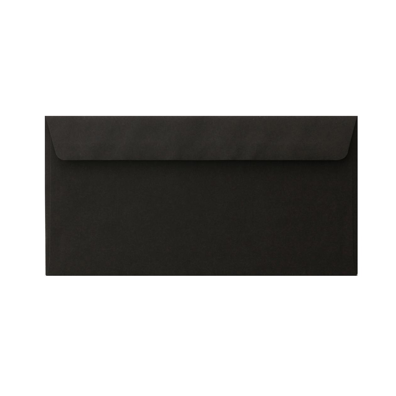 長3カマス34封筒 コニーカラー ブラック 85g