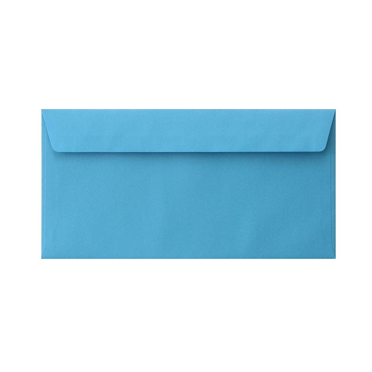 長3カマス34封筒 コニーカラー ブルー 85g