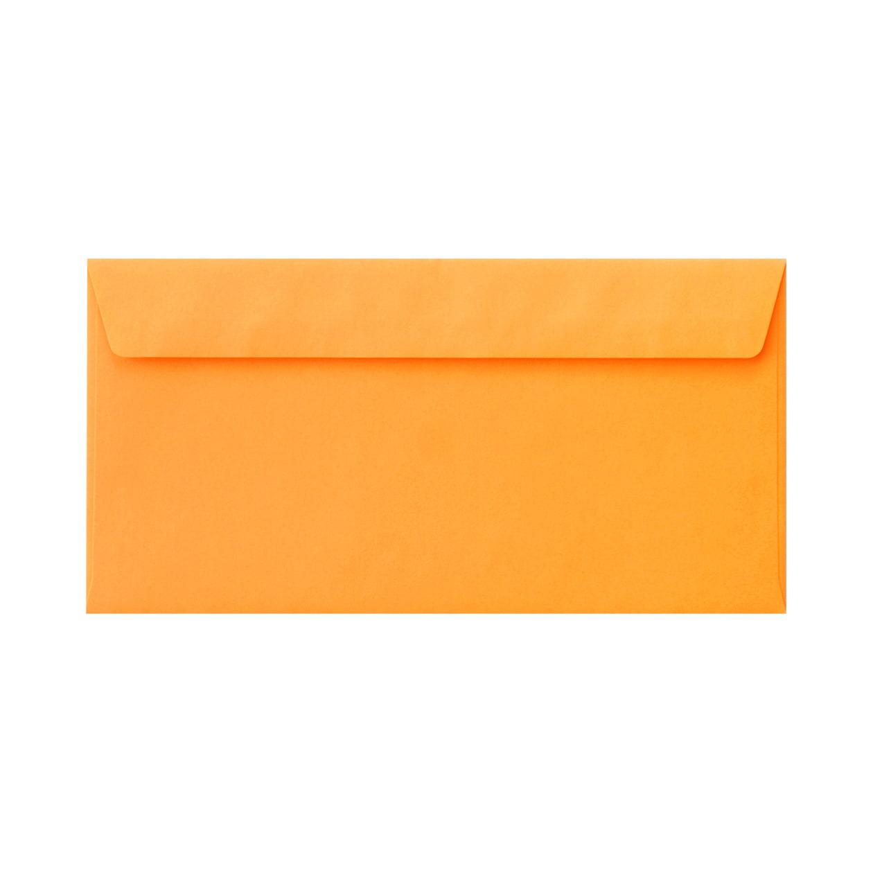 長3カマス34封筒 コニーカラー オレンジ 85g