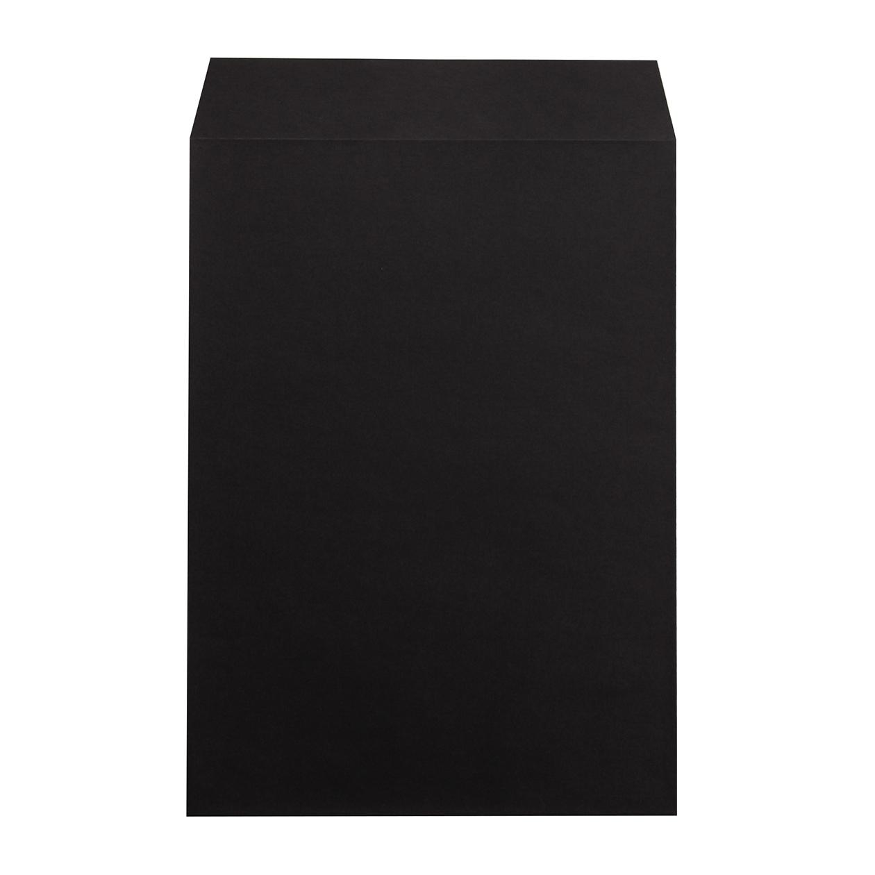 角2封筒 コニーカラー ブラック 100g