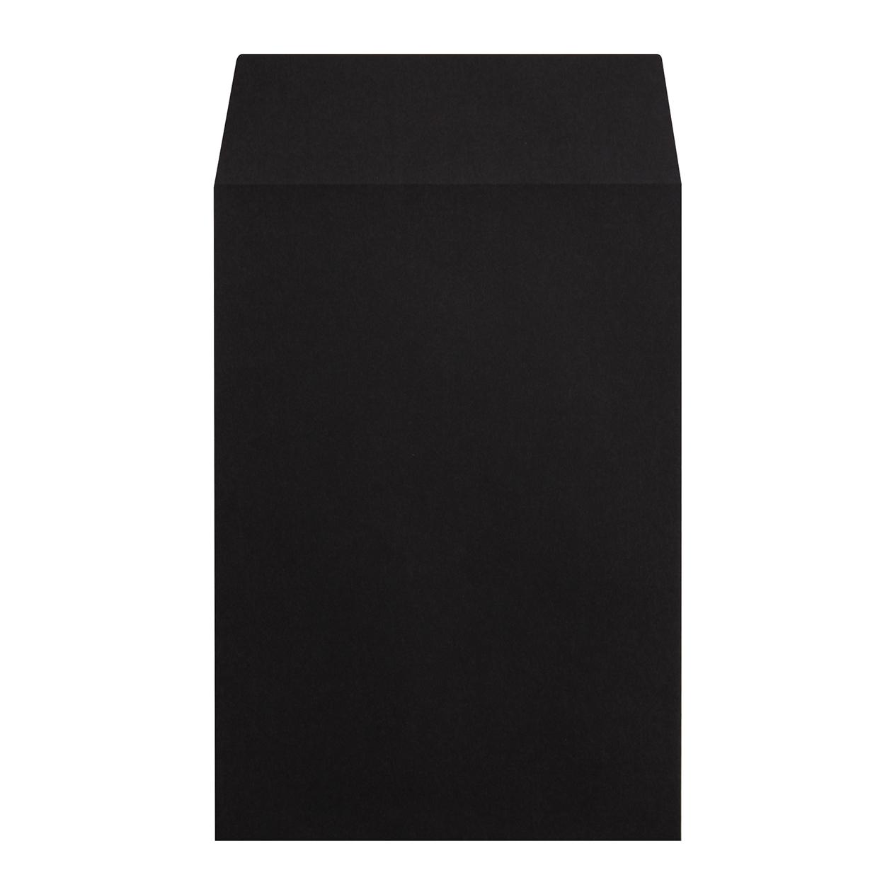 角6封筒 コニーカラー ブラック 100g