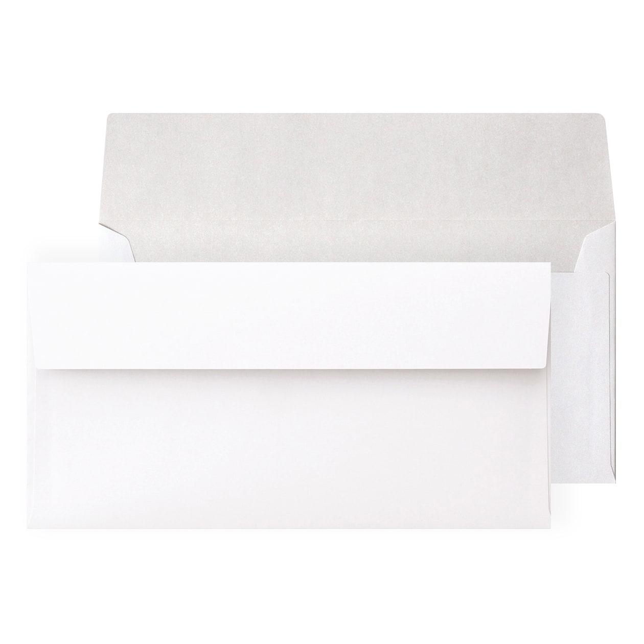 長3カマス封筒 撥水ラップ99 ホワイト 100g