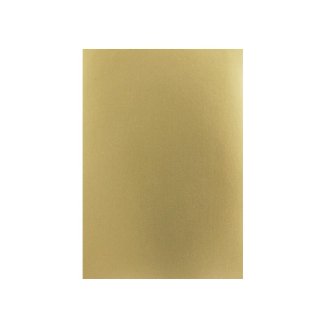 A6シール ゴールド(つやなし)