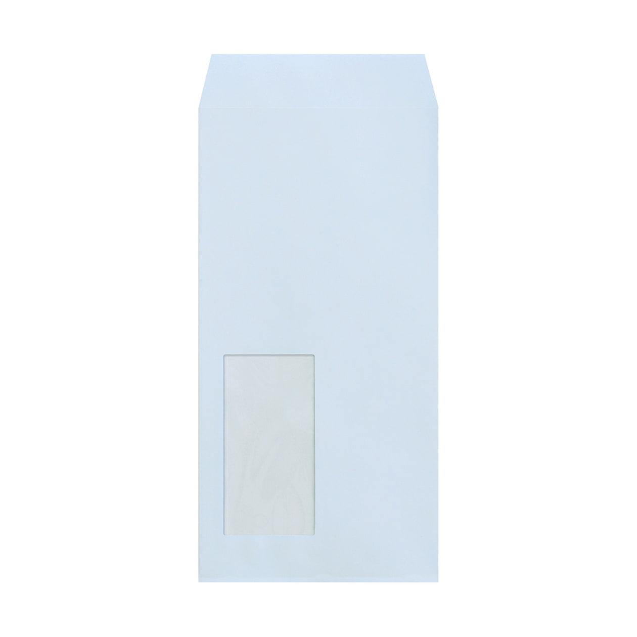 長3窓封筒 エコフレンドリーカラー アースブルー 100g
