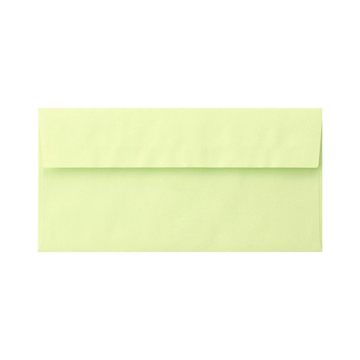 長3カマス封筒 エコフレンドリーカラー リーフグリーン 100g