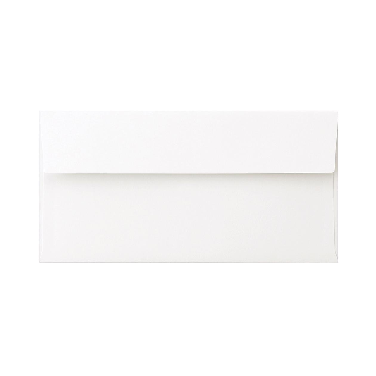 長3カマス封筒 コットンオペーク ホワイト 116.3g
