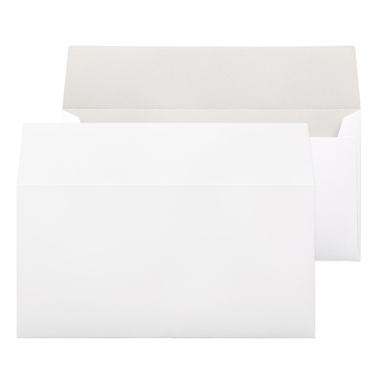長3カマス封筒(フタ立て) コットンオペーク ホワイト 116.3g