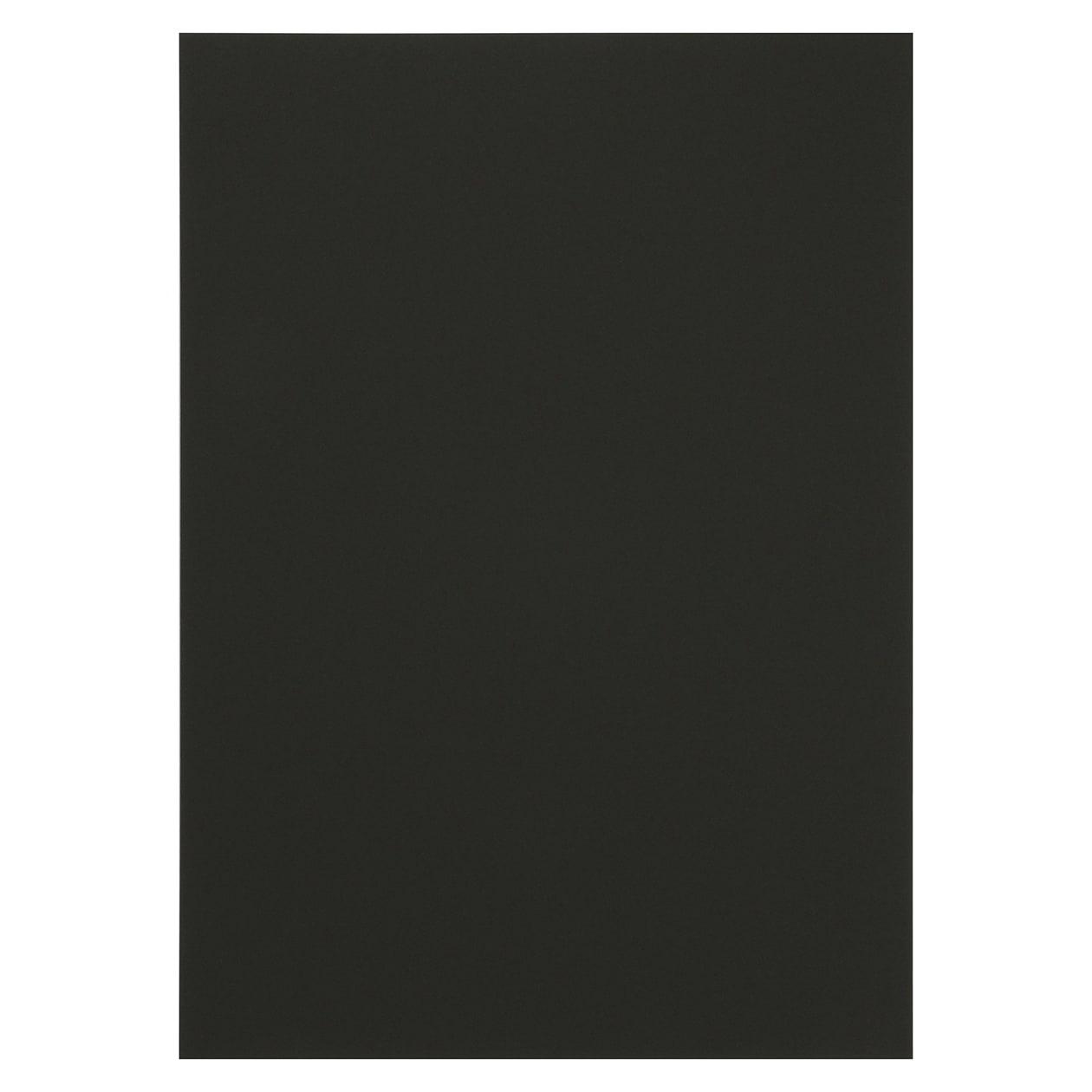 A4シート コットン(NTラシャ) 漆黒 116.3g