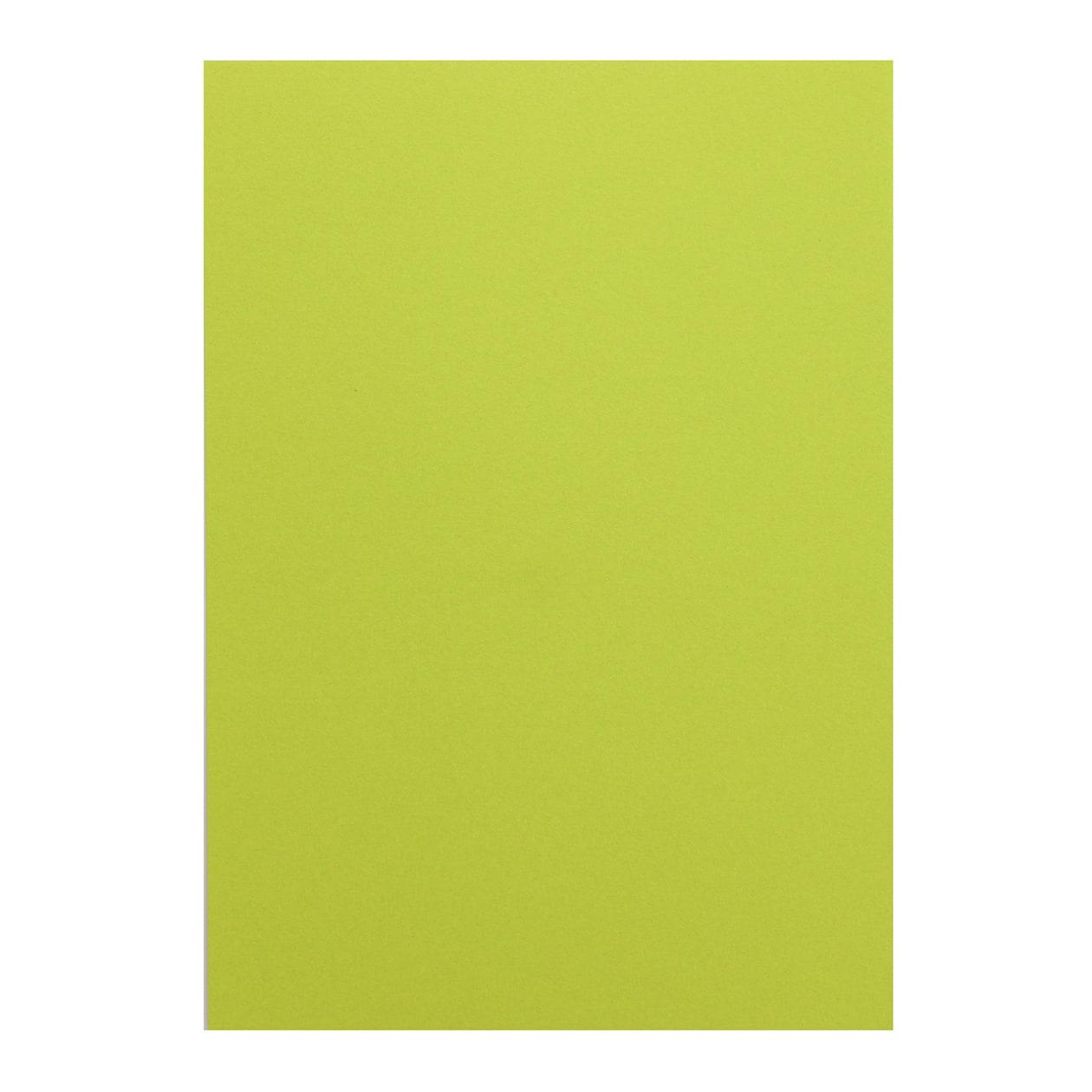 B5シート コットン(NTラシャ) 黄緑 116.3g