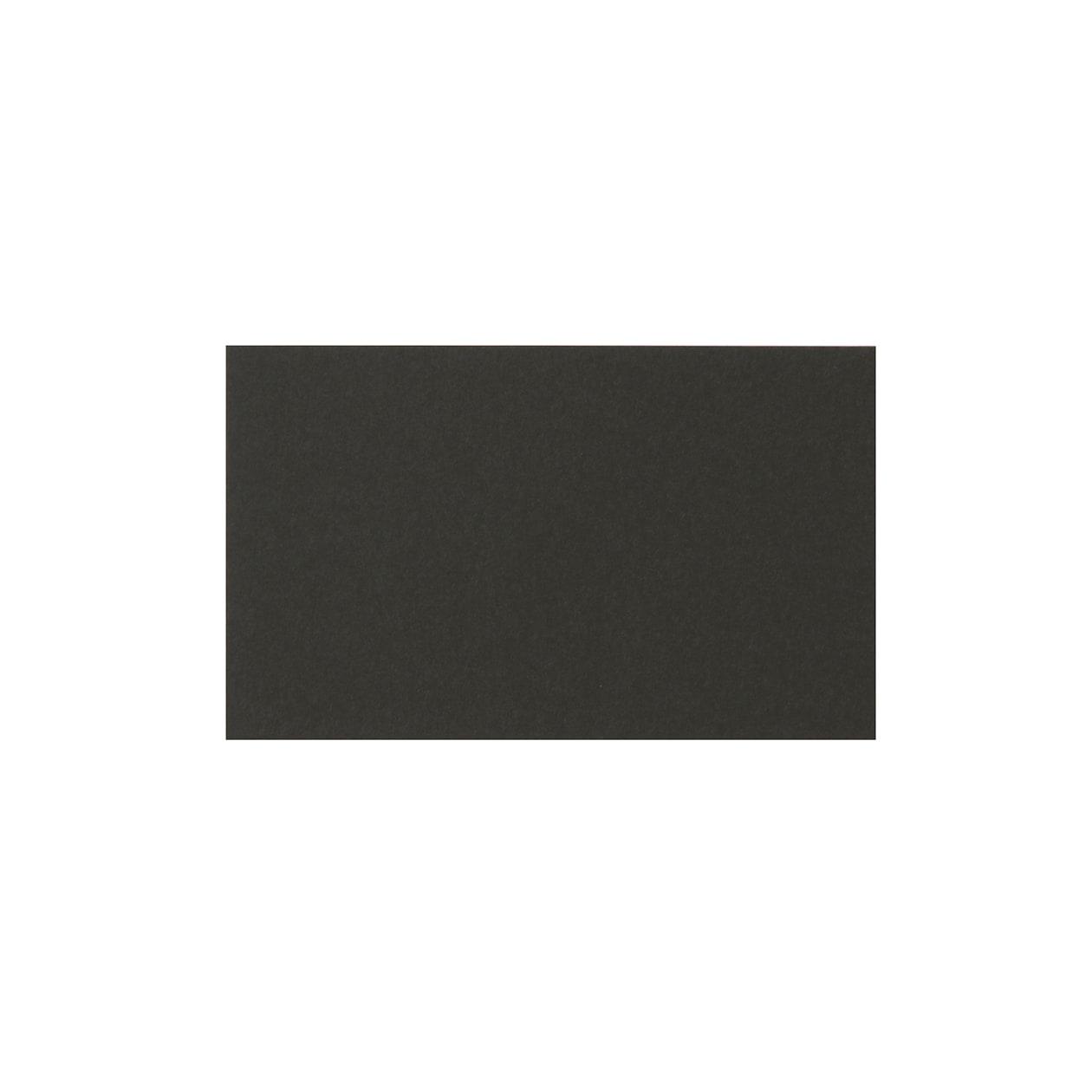 ネームカード コットン(NTラシャ) 黒 151.2g