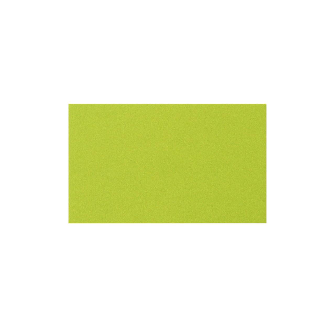 ネームカード コットン(NTラシャ) 黄緑 151.2g