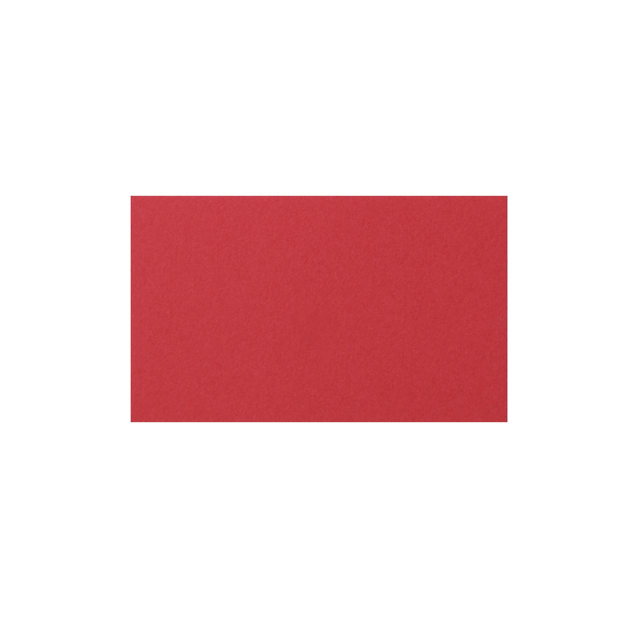 ネームカード コットン(NTラシャ) 赤 151.2g
