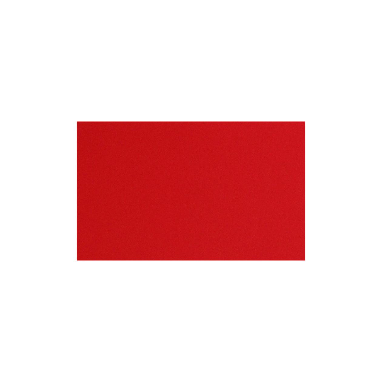 ネームカード コットン(NTラシャ) 濃赤(こいあか) 244.3g