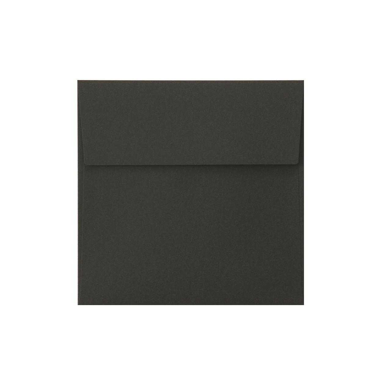 SE16カマス封筒 コットン(NTラシャ) 黒 116.3g