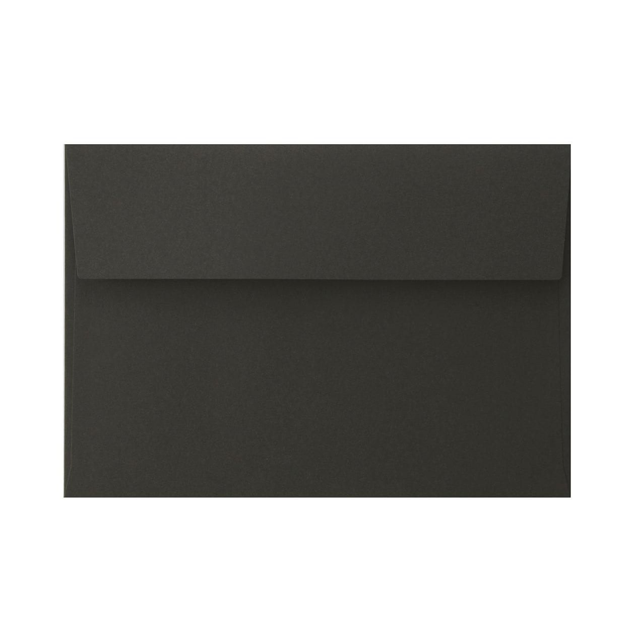 角6カマス封筒 コットン(NTラシャ) 黒 116.3g