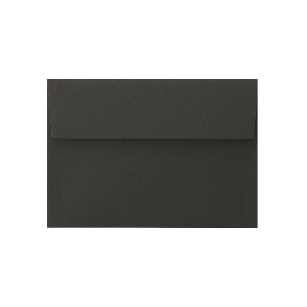 洋2カマス封筒 コットン(NTラシャ) 黒 116.3g